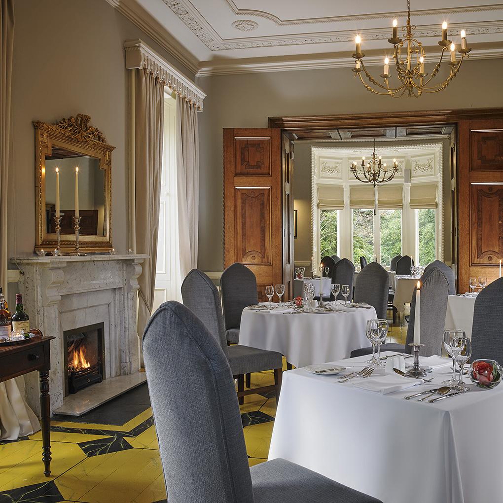 Ballykealey House Dining Oak Room Restaurant